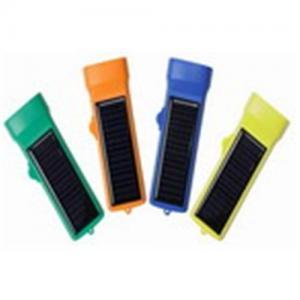 China Solar Power Flashlight, Solar Light, Flashlight,Solar Lamp on sale