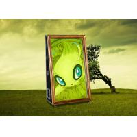 China Separable Movable Magic Mirror Photo Booth With Amusing Music And LED Light on sale