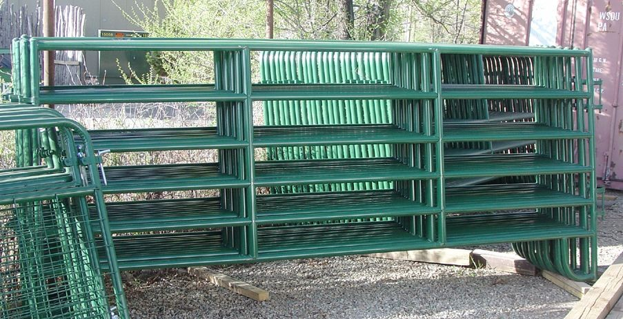 4ft x 9ft Cattle Horse yard panels for Unite States Farm 40mm tubing ...