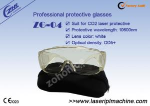 China Safety OD 5+ Transparent CO2 Laser Beauty Equipment Protective Eyewear on sale