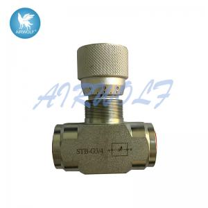 China STB-G3/4 Hydraulic One Way Throttle Valve PN40 For Flow Control on sale