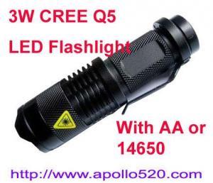 China 3W LED Flashlight on sale