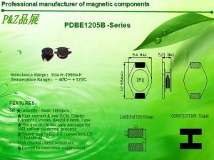 China PDBE1205 Series High current unshielded SMD Power Inductors on sale