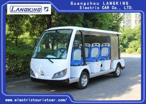 China 11 Passenger Electric Sightseeing Bus / Tourist Coach For Musement Park , Garden on sale