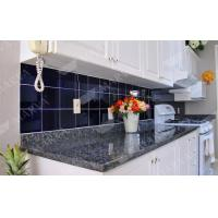 China Nature Stone Norway Blue Pearl Granite Countertop , Prefabricated  Granite Countertops On Sale .
