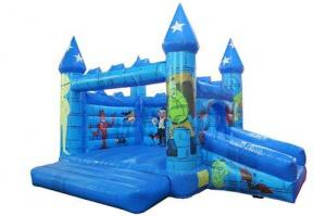 China Dracula And Frankenstein Inflatable Bounce House For Pre - School on sale