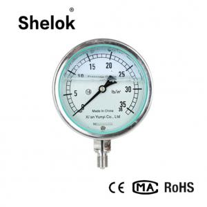 China High Precision Stainless Steel Digital Liquid Pressure Gauge on sale