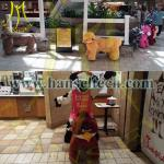 Hansel Coin Operated Plush Motorized Animal Scooter Electric Animal Toy Car Kids Ride In Mall