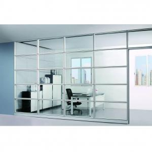 China Interior Smart Office Room Partition Glass Wall Fire - Resistant Self - Cleaning on sale