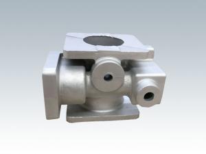 China Durable Aluminum Casting Valve Heat Treatment T6 Aluminum Sand Casting on sale