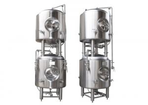 China 500 L Vertical 304 Stainless Steel Bright Beer Tank , Beer Serving Tanks on sale