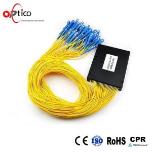 China Customized PLC Fiber Optic Splitter Module 1X64 Operating Wavelength 1260-1650nm on sale