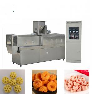 China High Efficiency Snack Food Production Line / Corn Snacks Making Machine on sale