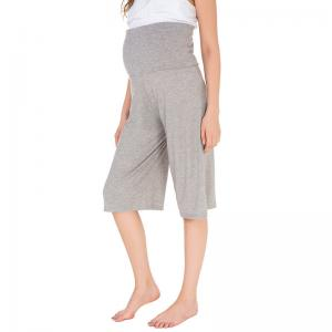 China Plus Size Maternity Yoga Leggings , Elastic High Waisted Maternity Pants on sale