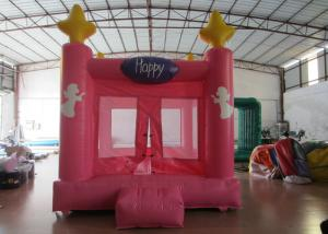 China Colourful Custom Inflatable Big Bouncy Castle Kids Indoor Inflatable Bouncer Fire Resistance PVC on sale