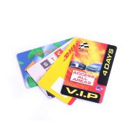 China Personalized Plastic Visiting Card Plastic Loyalty Cards For Small Busuness on sale