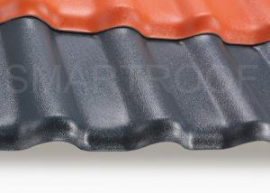 China 火証拠の総合的な波形のプラスチックシート 2.3 mm の低熱伝導性 on sale
