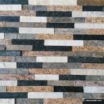 Slate Culture Stone Multicolor Quartzite Wall Stone Cladding WSQ-007