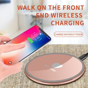 China Zine Alloy Quick Charge Power Bank Pad Stand No AC Adapter Galaxy S9/S9 S7/S7 Edge Applied on sale