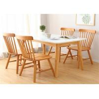 China Custom Modern Wood Dining Room Tables , 4 Chair Counter Height Dining Table on sale