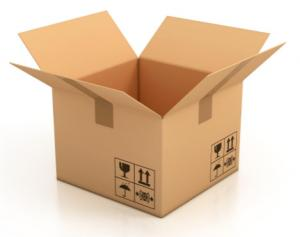 China Double Wall Carton Box For Moving , Custom Cardboard Boxes With Lids on sale