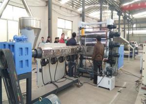 China CE ISO9001 WPC Foam Board Machine , PVC Foam Board Production Line For Furniture Board on sale
