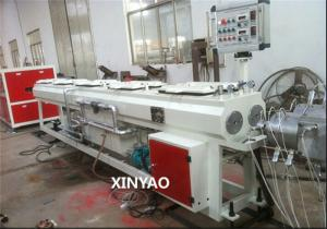 China UPVC Dual PVC Pipe Production Line 16 - 50mm / Pvc Pipe Extruder on sale