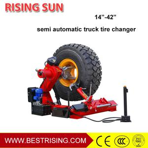 China Semi automatic tire mounting used truck service equipment for garage equipment on sale