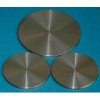 Round Niobium Sputtering Target , Corrosion Resistant 99.99% 4N Purity Nb Target