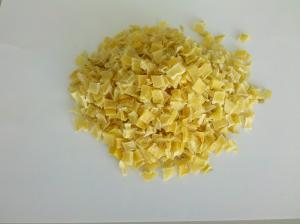 China ISO Certificate Dehydrated Potato Dices / Yellow Dry Potato Flakes 10×10×3mm on sale