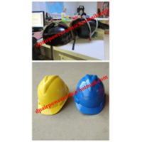 Casque de sécurité en plastique de SMC, casque antichoc fonctionnant industriel de sécurité de FRP