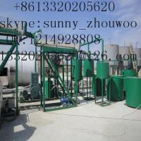 ZSA Black Oil Extraction Equipment,Oil Distillation Equipment  to base oil Manufacturer
