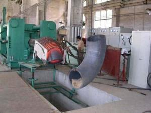 """China Low Noise Elbow Hot Forming Machine Processing Size 20""""-56 With Induction Heating on sale"""
