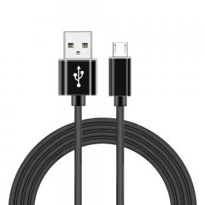 China High Quality Cloth Braided Micro Usb Cable Charger for Android Mobile Phone And Tablet Data Cable on sale