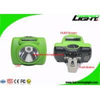 Durable Waterproof High Beam Safety Mining Cap Lamp with 6.8Ah Panasonic Battery