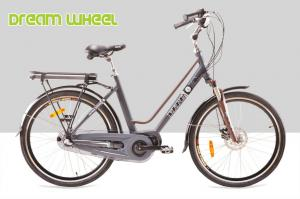 China City Mid Motor Electric Bike 250W 26 Inch Wheel EN15194 25Km / H Disc Brake For Front on sale