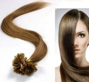 China Feminino u marrom - Tip 100% Remy pessoas Pre lig cabelo extensão on sale