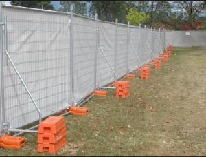 China Temporary Fence With Plastic Feet Easy To Install And In High Security on sale