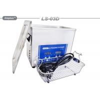 China 3 Liter Professional Ultrasonic Jewelry Cleaner Ultrasonic Cleaning Bath on sale