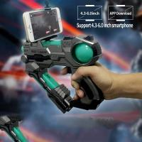 Virtual AR Game Light Up Toy Gun Bluetooth Compatible With IPhone Android Smart