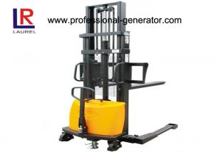 China 2000kg Warehouse Material Handling Equipment Battery Operated Manual Hand Lift Stacker on sale