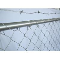 China 6' x 12' construction fencing panesl 41.2mm outer tube wall thick 1.6mm mesh 3x3 diameter 2.7mm on sale