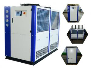 China 25HP +7 C Outlet Trade Assurance Air Cooled Industrial Digital Water Chiller For Molding Machine on sale