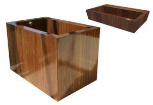China Cypress wooden Foot Sauna Bath Bucket on sale