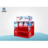 China 2 Sides Red Pallet Shop Display Collapsible Pantone Color Printing For Toy on sale