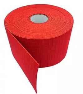 China Wholesale 18x18x3MM Red/Blue EVA Rubber Separator Shipping Pads On Rolls for Glass Protection on sale