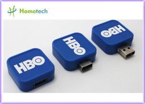 China Square Swivel Promotional USB Flash Drive on sale
