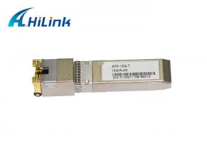 China 10Gbase SFP Transceiver Module SFP-T Copper RJ45 port SFP modules on sale