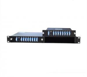 China 8CH Wavelength Division Multiplexer CWDM Mux/Demux Module With 2 LGX Module Slots on sale