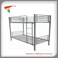 Silver metal bunk bed bedroom furniture best selling